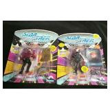 2 Star Trek TNG Action Figures