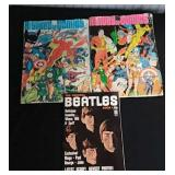 History Of Comics Magazines & Beatles