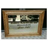 Brunswick Billiards Mirror