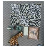 Giraffe Decor Lot