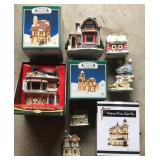 Collection of Xmas Decoration Houses