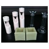 3  - Sets of Candle Holders