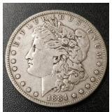 1884-P Morgan Dollar