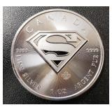 One Ounce Silver Round: Superman #1