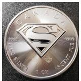 One Ounce Silver Round: Superman #2