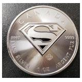 One Ounce Silver Round: Superman #3