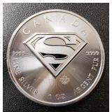 One Ounce Silver Round: Superman #4