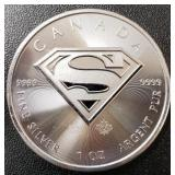 One Ounce Silver Round: Superman #5