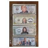 (7) Novelty Trump Million Dollar Notes