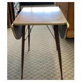 Vintage Formica Drop Leaf Table