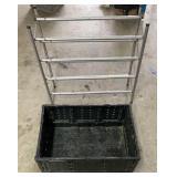 Adjustable Shoe Rack & Folding Crate