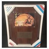 "Michael Jordan ""Greatest Ever"" Card Plaque"