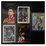 (5) NBA Rookie Cards #1