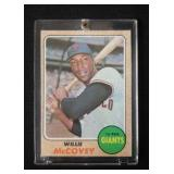 1968 Topps Willie McCovey Card