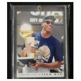 1992 Upper Deck Michael Jordan MVP Checklist Card