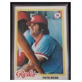 1978 Topps Pete Rose Card