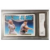 Topps 1993 Larkin/ Fryman Card: GMA Gem MT 10