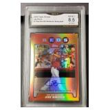 2009 Topps Jay Bruce Card: GMA NM-MT+ 8.5