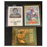 (3) Jack Young Blood Football Cards