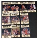 (10) 1997 Set of Michael Jordan Marquee Matchups