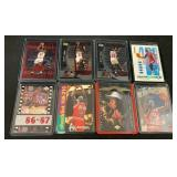 (8) Michael Jordan Insert Basketball Cards