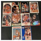 (10) Bulls Scottie Pippen Basketball Cards