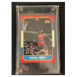 1986 Fleer Michael Jordan Rookie Card Reprint