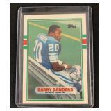 1989 Sharp Topps Barry Sanders Rookie Card