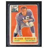 1956 Topps Frank Gifford Football Card