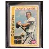 1978 Topps Roger Staubach Football Card