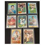 (8) NFL HOF Quarterback Football Cards