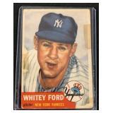 1953 Topps Whitey Ford Baseball Card
