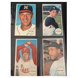 (4) 1964 Star Card Lot