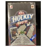 1990-91 Sealed Unopened Box Hockey Cards