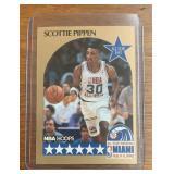 1990 Scottie Pippen NBA Hoops Card