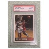 1996 Michael Jordan Graded Mint 9 Topps Card