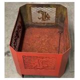 Red Washington Cougars Fire Pit