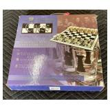 Glass Chess Board Shot Set