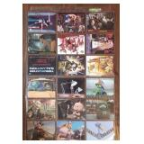 (18) San Diego Comic Con Promotional Cards