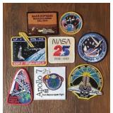 (8) NASA Patches