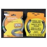 (2) Galvanized Wire
