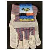 (2) Pairs Smooth Grain Oxbridge Work Gloves