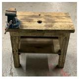 Work Bench With Huge Clamp