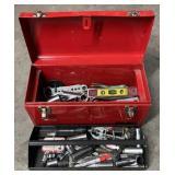 Waterlod Metal Toolbox W/ Tools