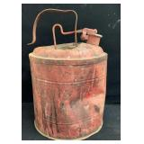 Aged Metal Gas Can