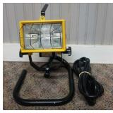 Small Shop Light on Stand
