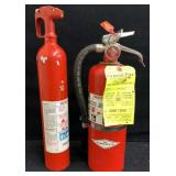 (2) Fire Extinguishers