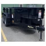 Big Tex Double Axle Dump Bed Trailer