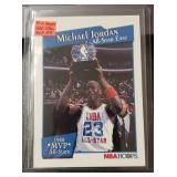 1991 Hoops All-Star Michael Jordan Card