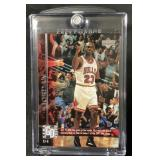 1997 Upperdeck Michael Jordan Game Dated Card